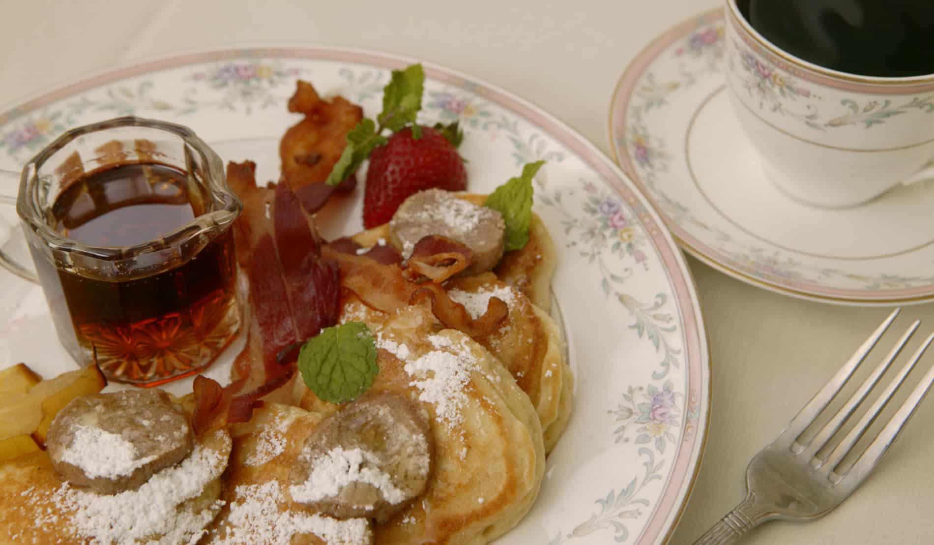 Apple Dollar Pancakes