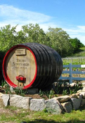 Truro Vineyards Barrel