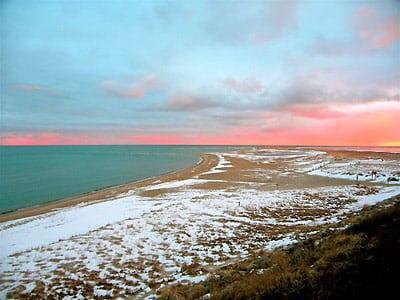Winter Beach Cape Cod